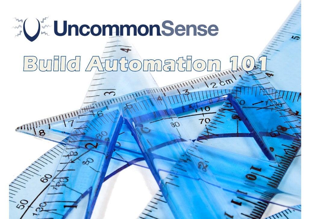 Build Automation 101