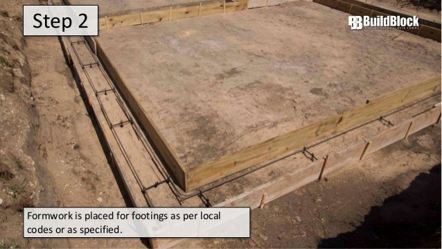 Buildblock Insulating Concrete Form Icf Construction In