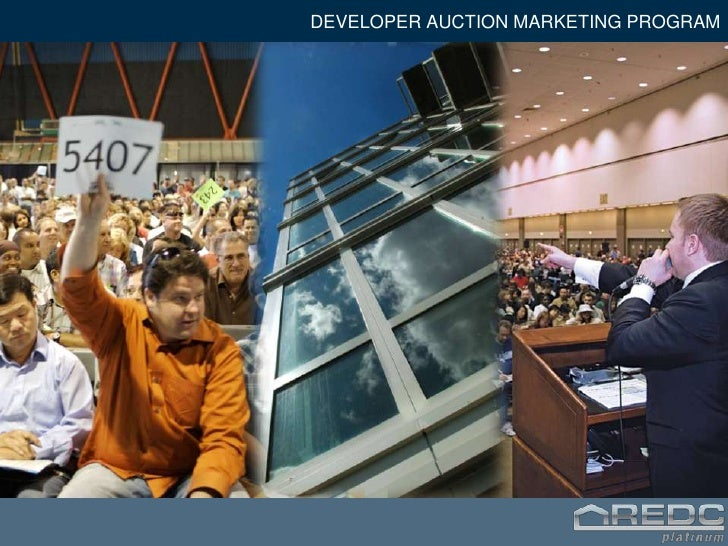 DEVELOPER AUCTION MARKETING PROGRAM<br />