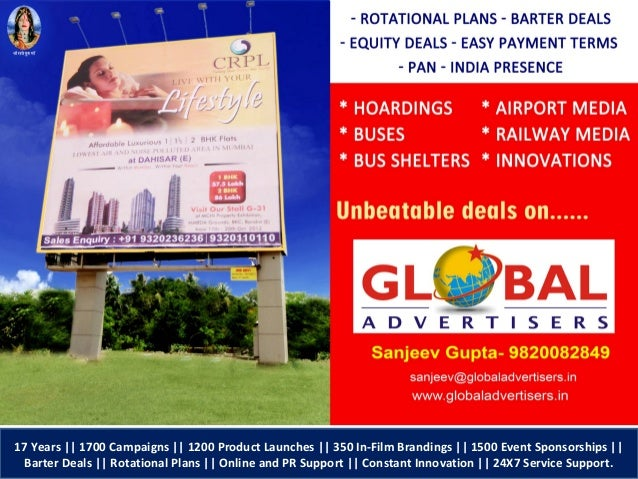 Chaubey Realties Outdoor Advertising
