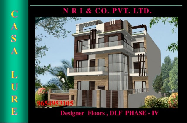 Builder Floor In dlf Gurgaon , 9654953105, Designer Independent Floors