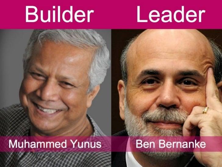 More Buildership Less Leadership