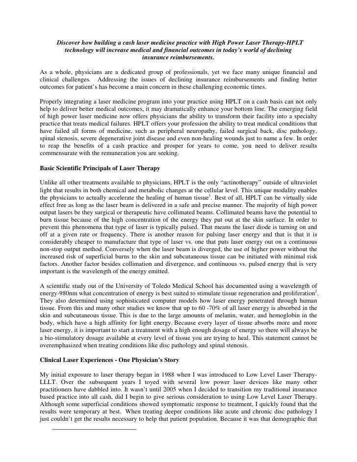 Building a Cash Laser Practice—AvicennaLaser.com