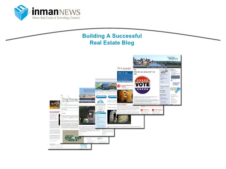 Building A Successful Real Estate Blog