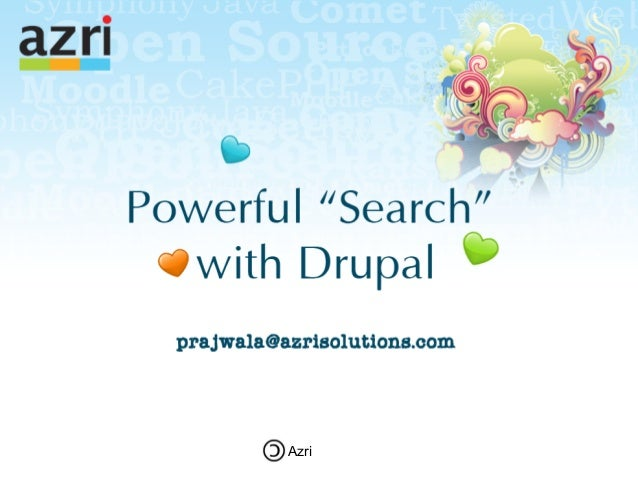 Building powerful-search-in-drupal