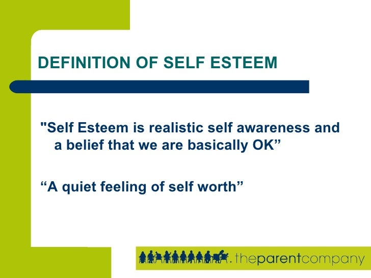 Self Confidence Definition For Kids