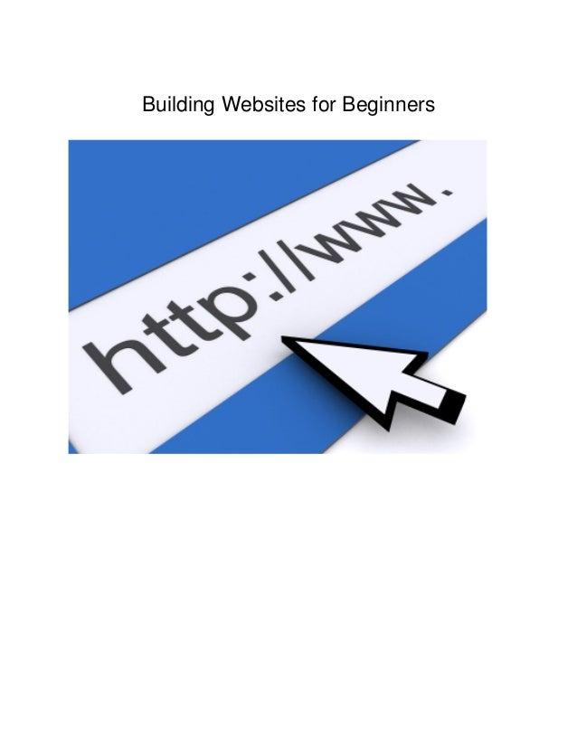 Building Websites for Beginners