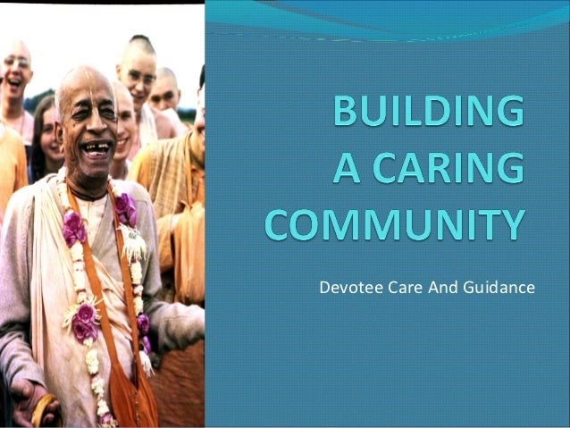 Devotee Care And Guidance