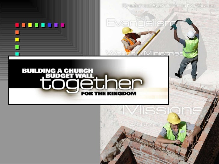 Building a Church Budget Wall