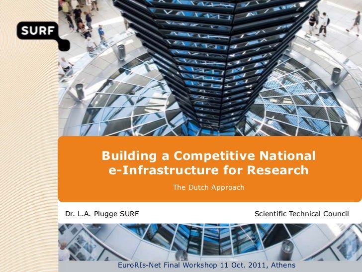 Building a Competitive National          e-Infrastructure for Research                            The Dutch ApproachDr. L....