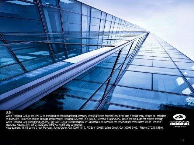 World Financial Group Building U.s World Financial Group
