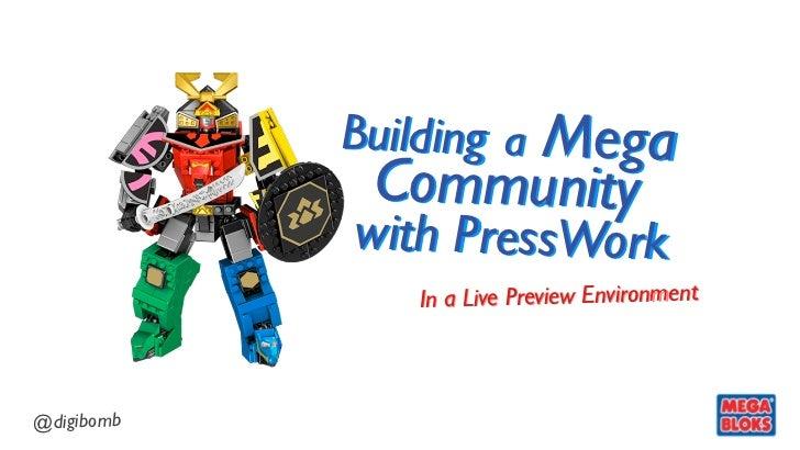 Building a Mega Community with PressWork