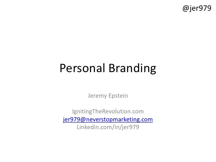 Building And Growing Your Personal Brand