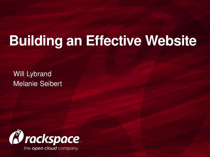 Building an Effective Website for Non-Profits
