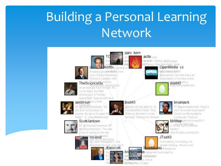 Building a Personal Learning Network<br />