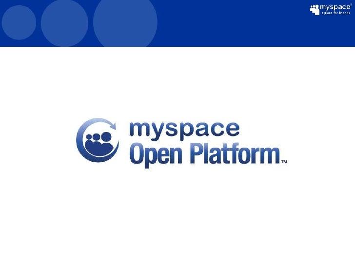 Building Apps With MySpace SDKs           Chak Nanga (Architect)      KiamChoo (Sr. Technical Evangelist)