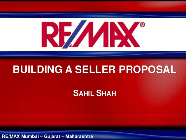 Building a Seller Proposal in Real Estate