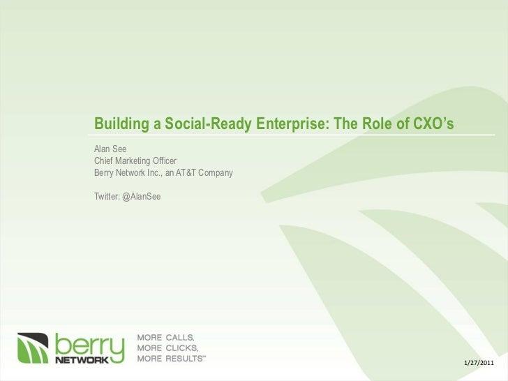 Building a Social-Ready Organization