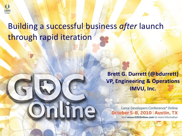 Building a successful business after launch