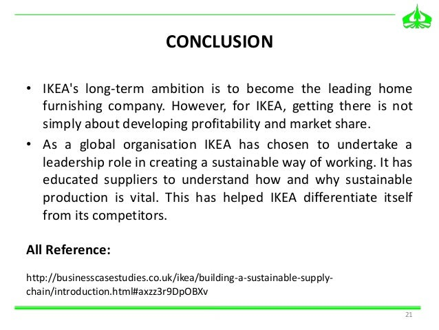 ikea case essey This free business essay on essay: the ikea way is perfect for business students to use as an example.