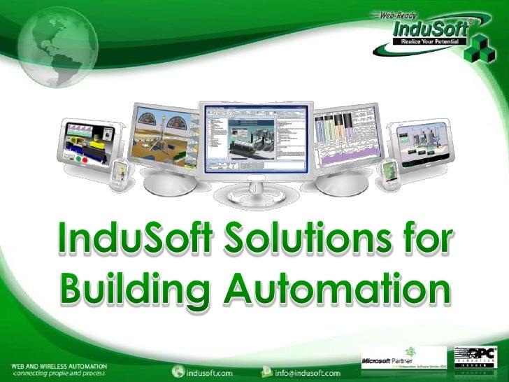 InduSoft Building Automation and Energy Management Webinar