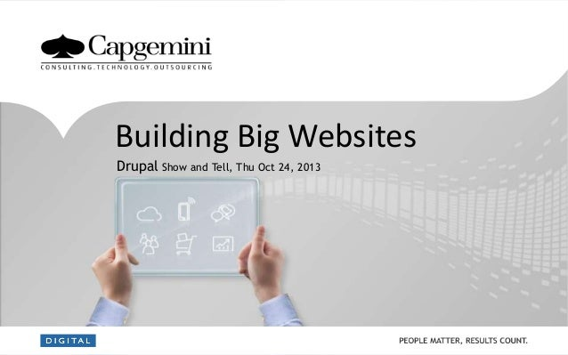 Building Big Websites with Drupal