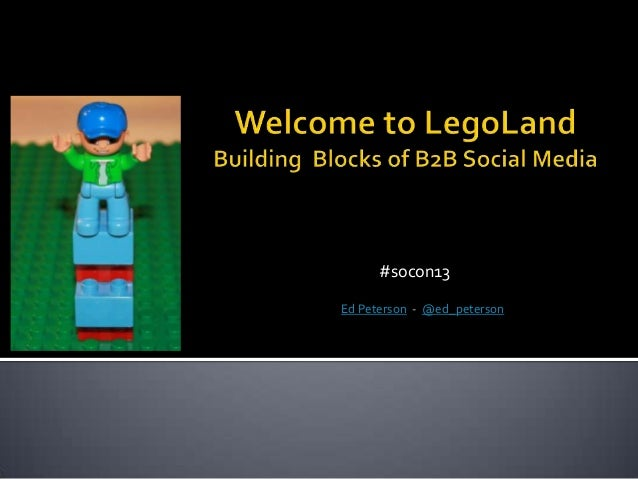 Building Blocks of B2B Social Media