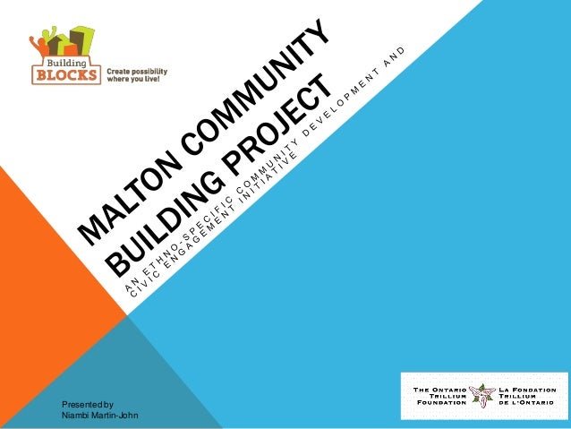 CollaborAction: Building Blocks Learning Exchange: Malton Community Building Project