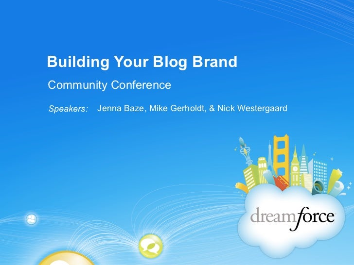 Building Your Blog Brand