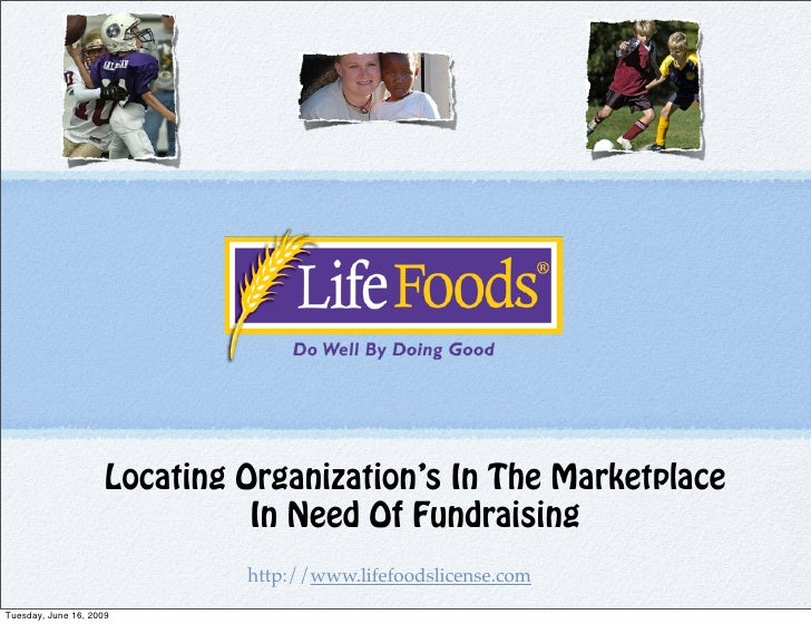 Locating Organization's In The Marketplace                                In Need Of Fundraising                          ...