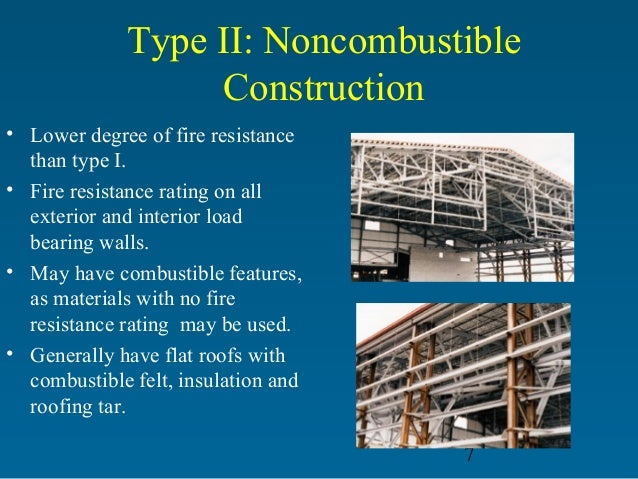 Firefighter Building Construction Types