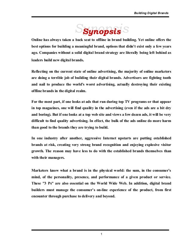 SynopsisSynopsis Building Digital Brands Online has always taken a back seat to offline in brand building. Yet online offe...