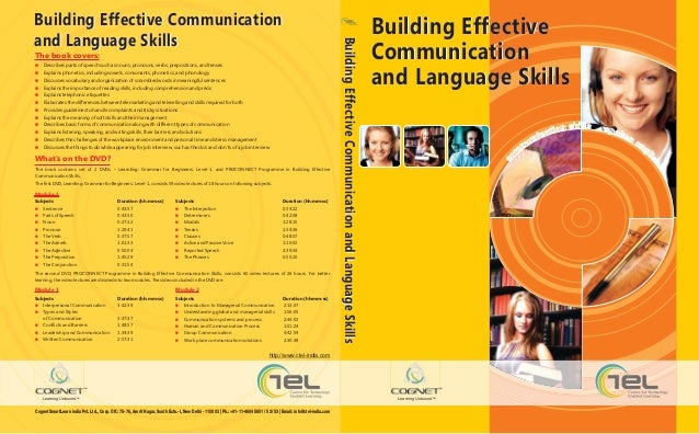 Building Effective Communication                                                                                          ...