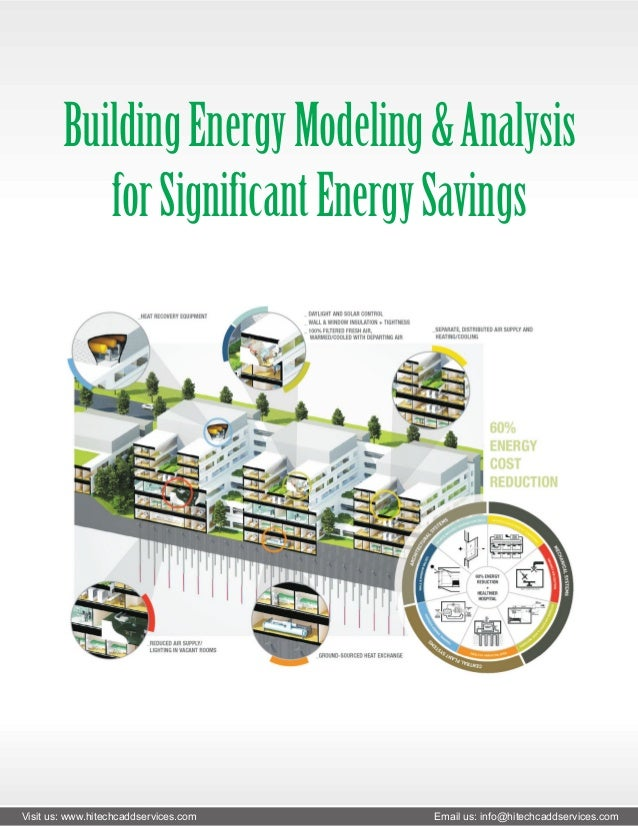Building energy modeling & analysis for significant energy savings