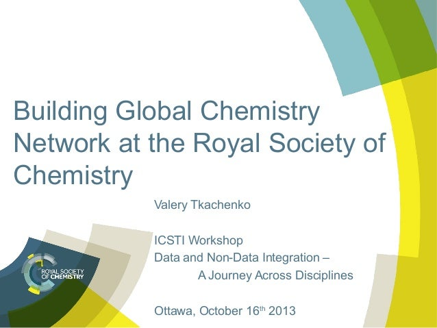 Building global chemistry network at the royal society of chemistry