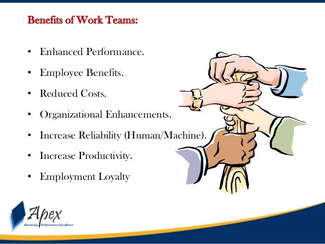 the benefits of team building at Why is team-building important team building also benefits the team as a whole when people who rarely work together are forced to communicate.