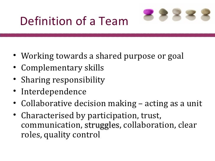 how to develop shared goals in collaborative decison making