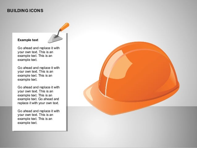 Building Icons Collection for PowerPoint