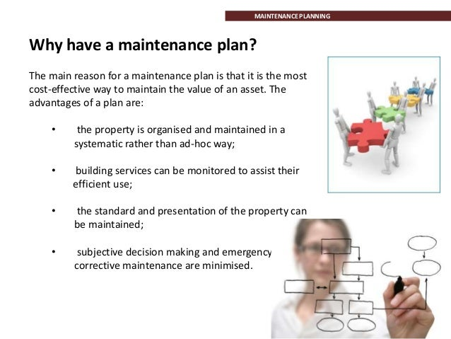 Building maintenance business plan