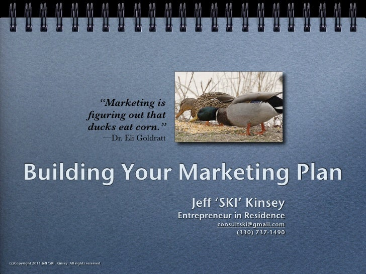 Building Your Marketing Plan