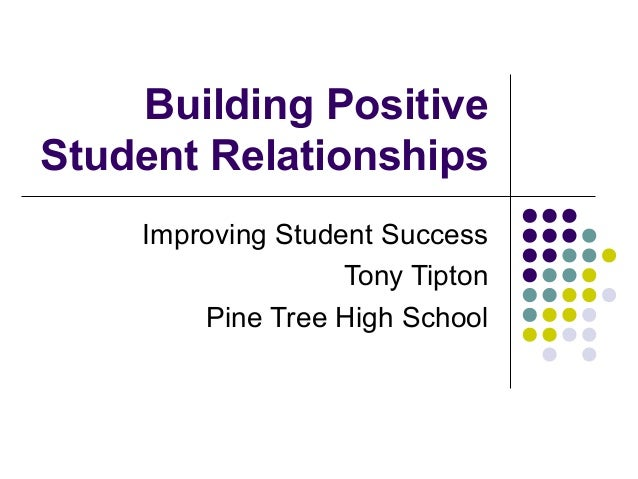 Building positive student_relationships