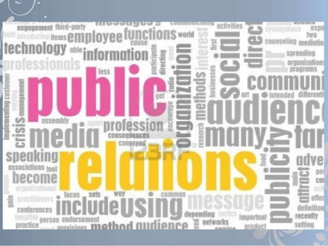 Significance of Public RelationsThere is a need to build up an amicable liaison     between public and our organizationtha...