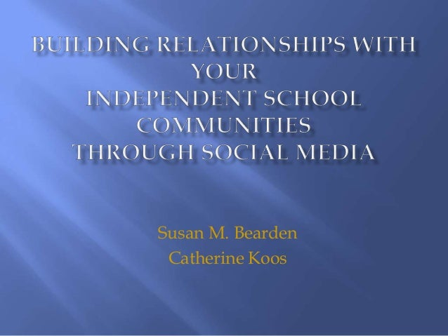 Susan M. Bearden Catherine Koos