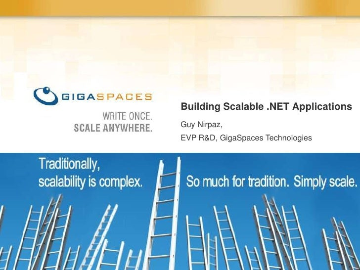 Building Scalable .NET Apps