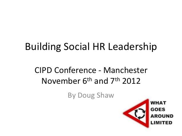 Building social HR leadership