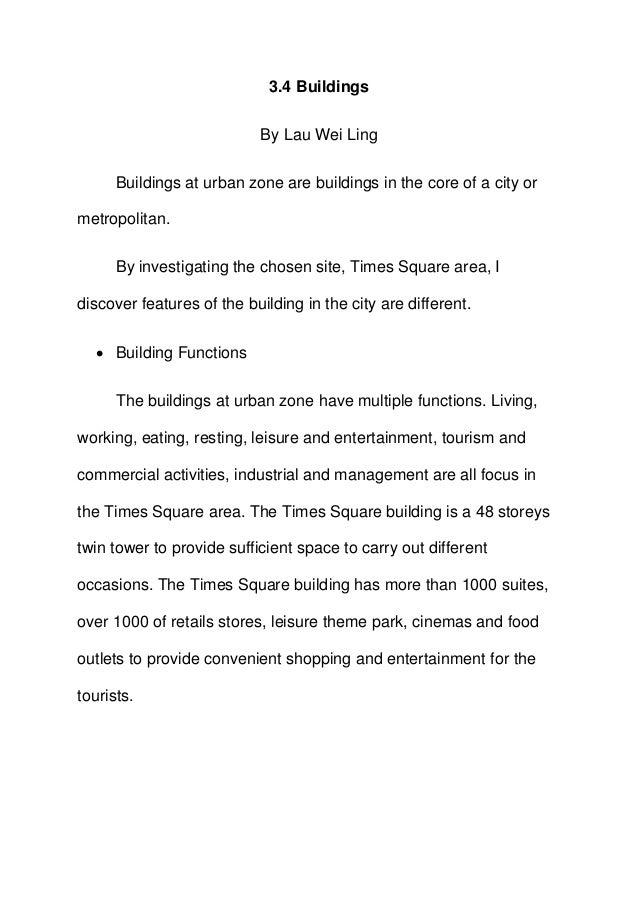 Buildings urban