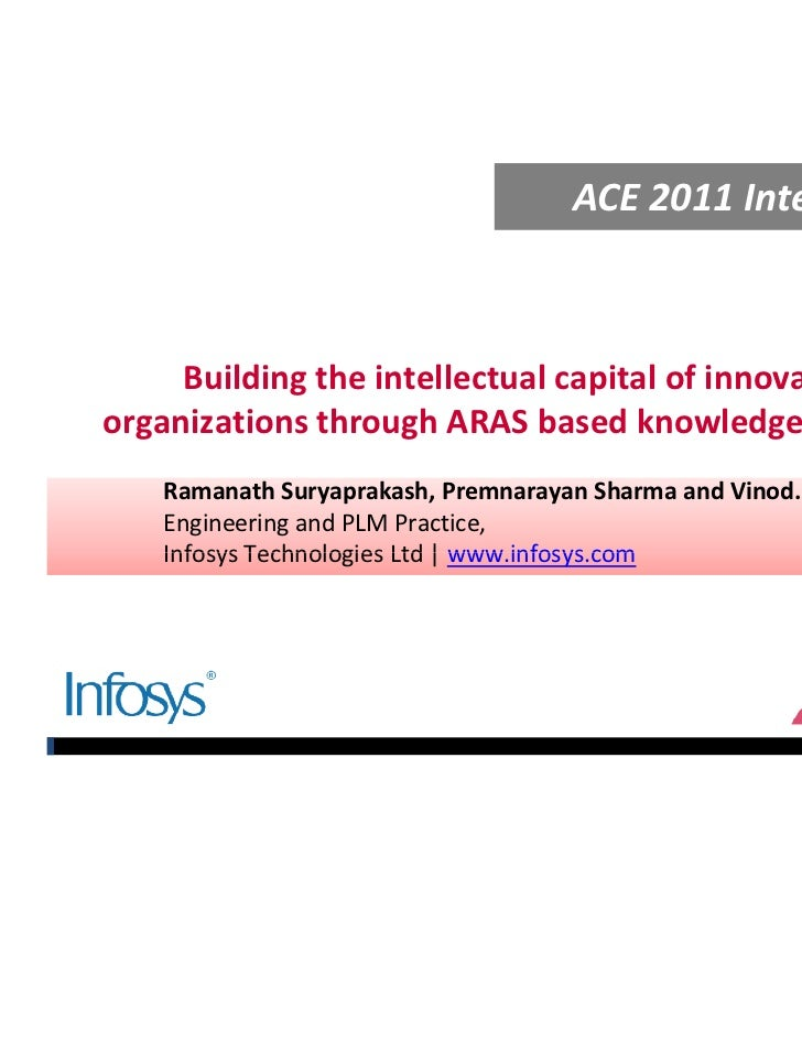 Building the Intellectual Capital of Innovative Organizations using Aras PLM Platform by Infosys