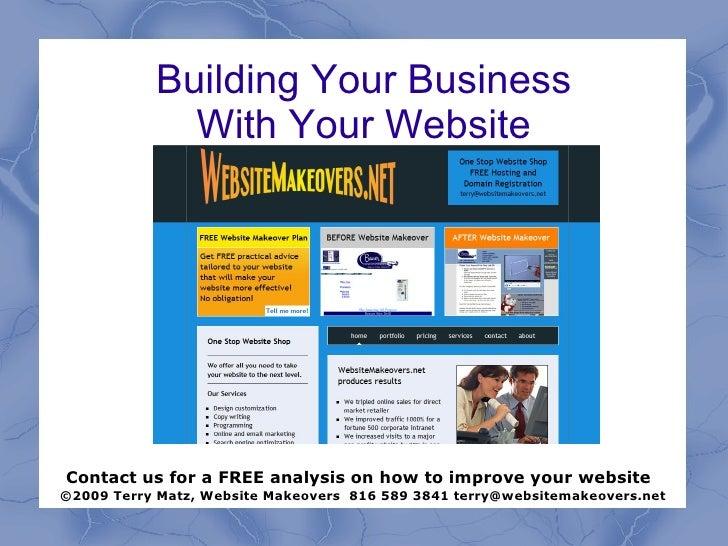Building Effective Websites