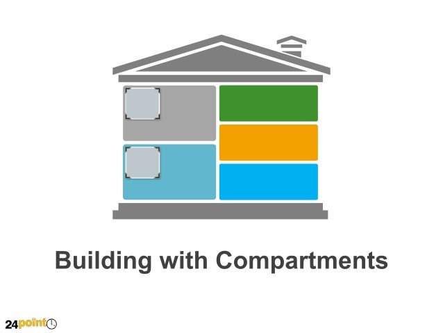 Building with Compartments  Insert Text This is dummy text. Go ahead and replace with your own.  Insert Text This is dummy...