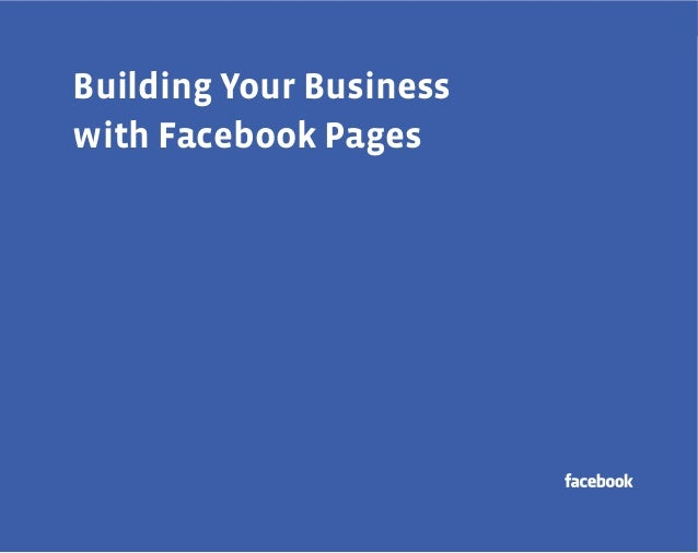 a  Building Your Business with Facebook Pages